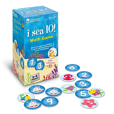 Math Game For Kids I Sea 10