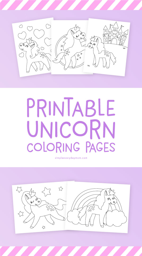 image relating to Girl Printable named 5 Printable Unicorn Coloring Webpages Each and every Very little Woman Desires