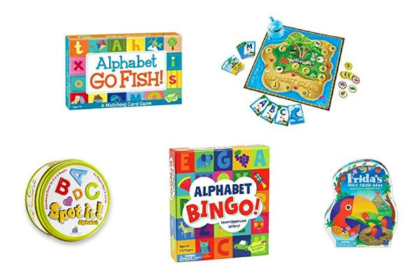 alphabet board games