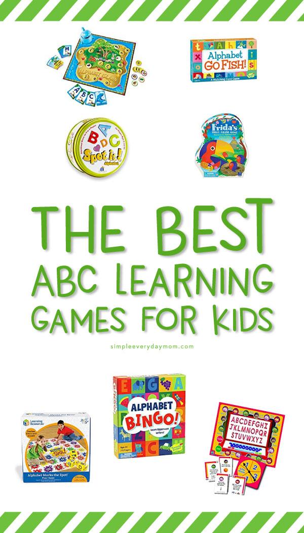 best alphabet board games for kids
