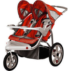 Instep Grand Safari Jogging Stroller Car Seat Compatible