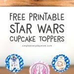 printable star wars cupcake toppers