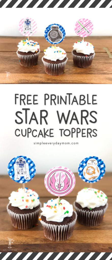 printable star wars cupcake toppers