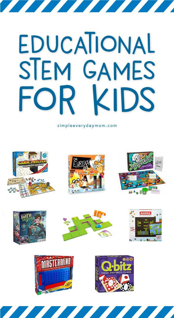 STEM board games for kids