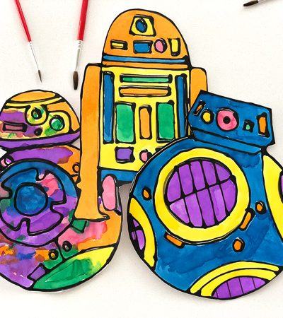 Watercolor Star Wars Droid Craft