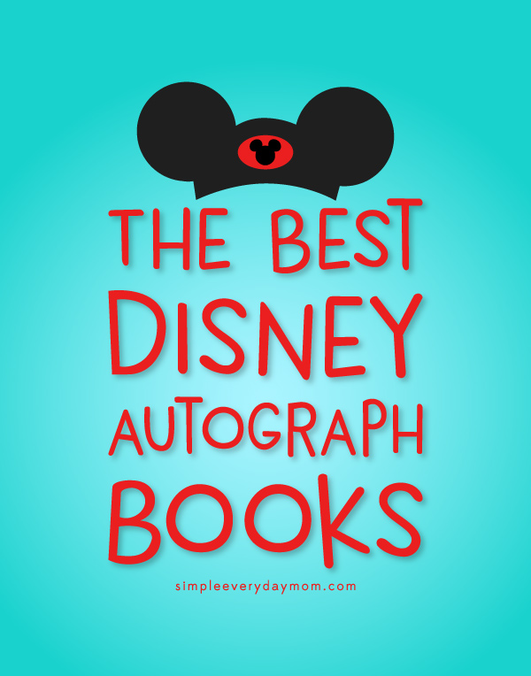 The Best Disney Autograph Books | Find the best autograph books for Disneyland, Disneyworld, Aulani or any Disney destination. This roundup includes Star Wars autograph books for boys, Disney princess autograph books, books from Etsy and more! #disney #disneyland #disneyworld