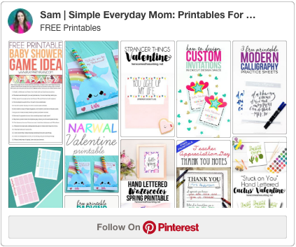 free printables pinterest board