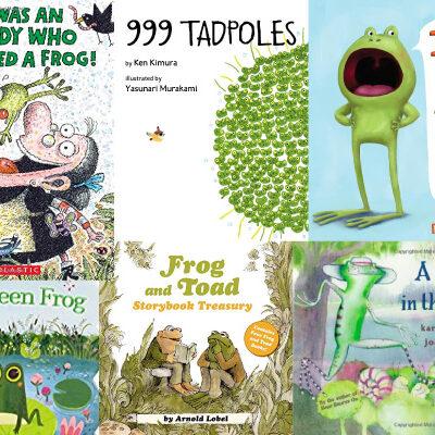 frog childrens books