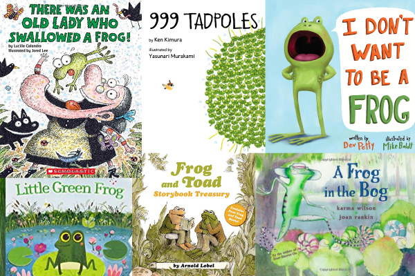 frog childrens books