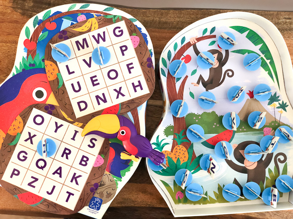 kids alphabet board game