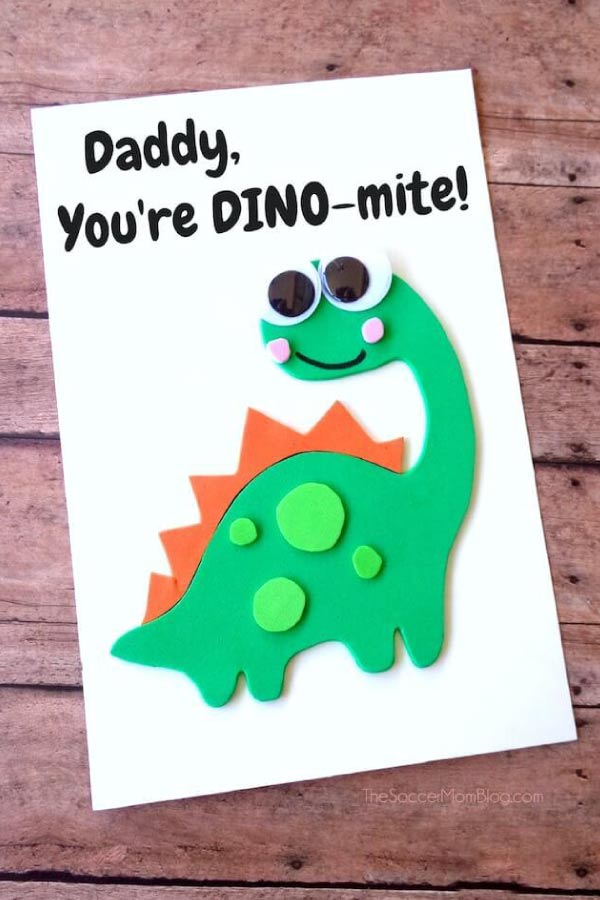 fathers day card for preschoolers to make