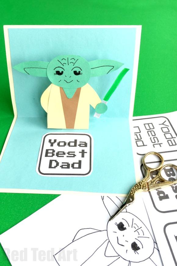 Yoda Fathers Day Card