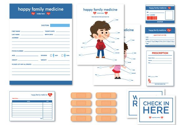 Pretend Play Doctors Printables