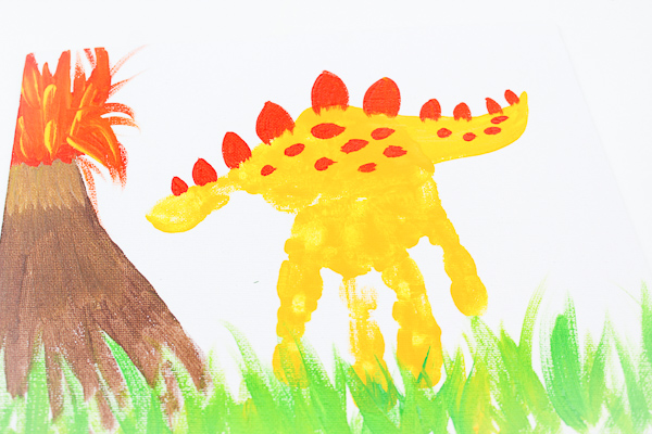 dinosaur art for preschool