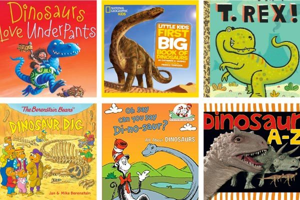 dinosaur books for preschool and kindergarten