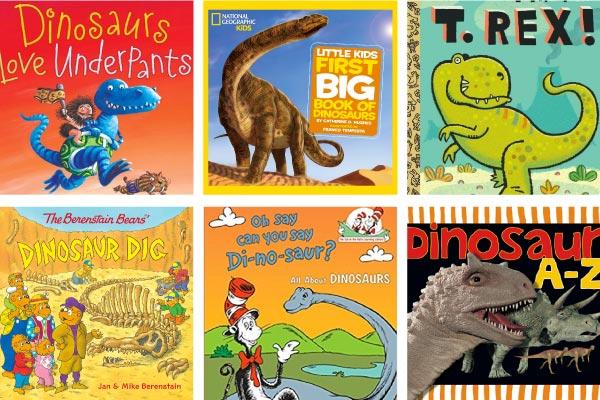 dinosaur books for preschool and kindergarten