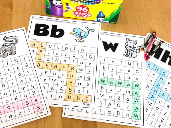 free printable animal alphabet worksheets