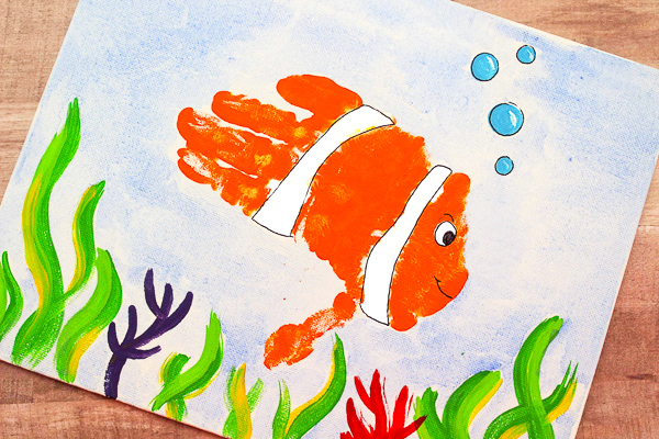 Ocean Art And Craft Ideas For Toddlers