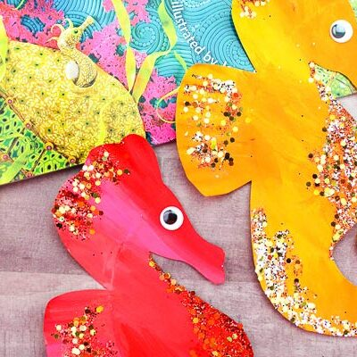 mister seahorse craft for kids