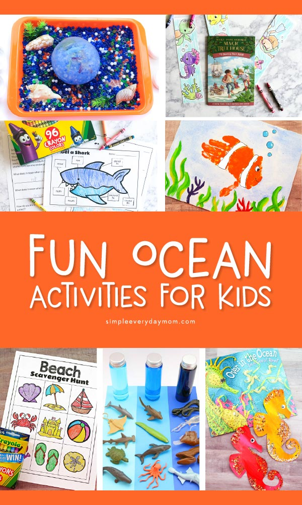 13 Ocean Kids Art Crafts Activities They Ll Love Simple