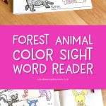 animal sight word readers