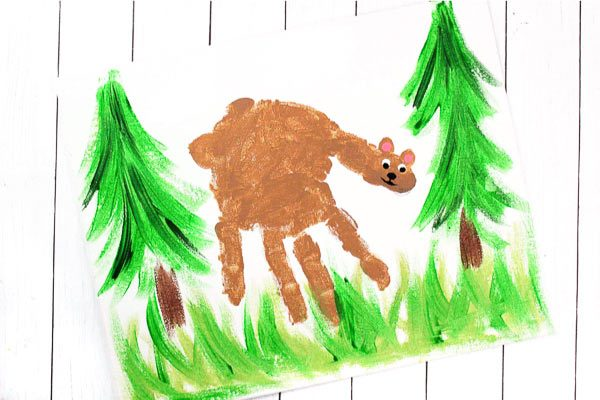 bear art activity