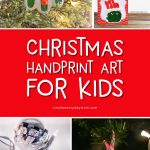 Christmas Handprint Art For Kids | Build family memories this season when you make these fun and easy DIY handprint crafts. There are reindeers, santas, snowmen and more! #christmas #christmascrafts #craftsforkids #kidscrafts #kidsactivities #kidsandparenting #preschool #kindergarten