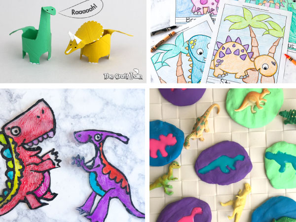 preschool dinosaur art project