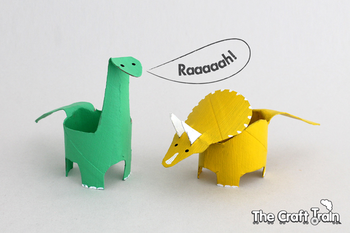 DIY dinosaur art and crafts