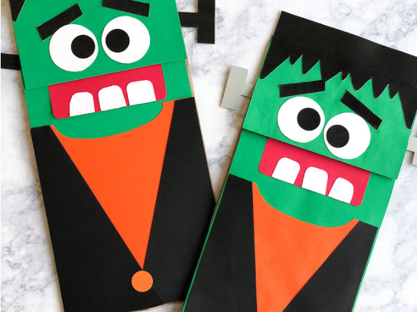 frankenstein craft for kids