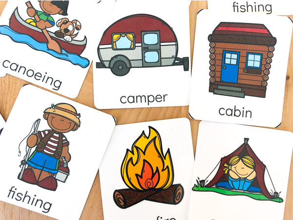 free nature flashcards for kids | printables for kids | educational activities