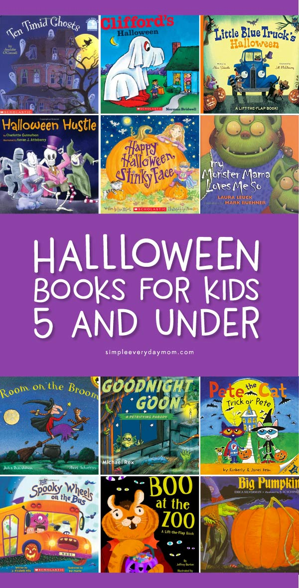 Halloween Books For Toddlers, Preschool & Kindergarten | These Halloween books are the perfect family friendly books to celebrate halloween and spooky fun!