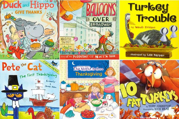 Thanksgiving books for preschoolers