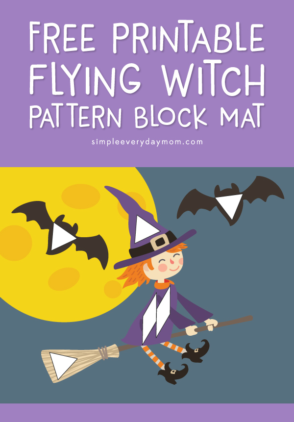 Free Printable Halloween Pattern Block Mats For Kids