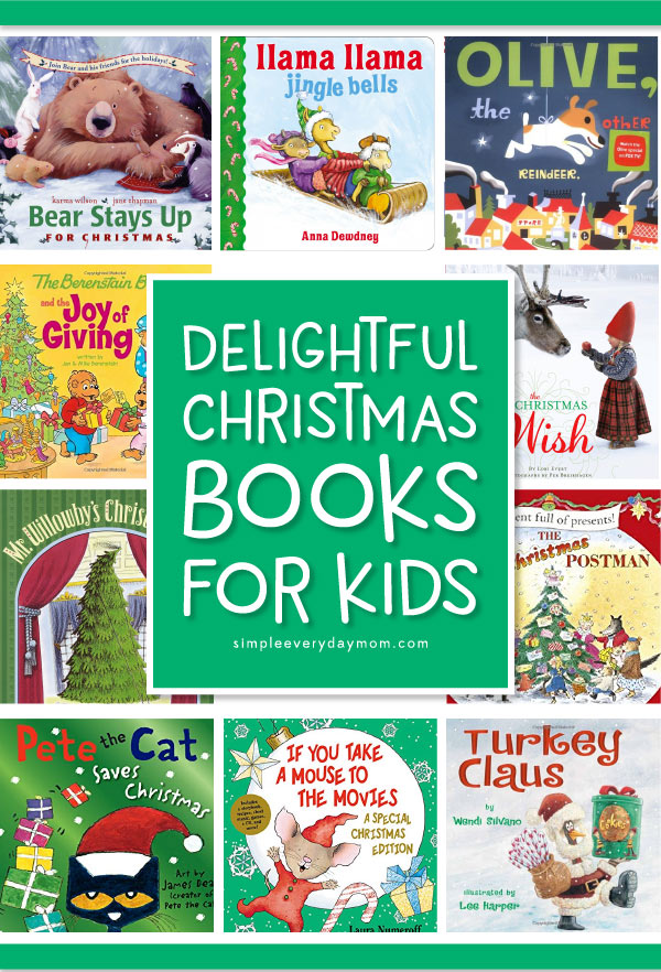 Best Christmas Books For Kids | These are some of the best Christmas books for children; they're perfect to read in the classroom or at home. Kids will love these cute and funny characters too! #childrensbooks #booksforkids #kids #earlychildhood #teacher #kindergarten #christmas