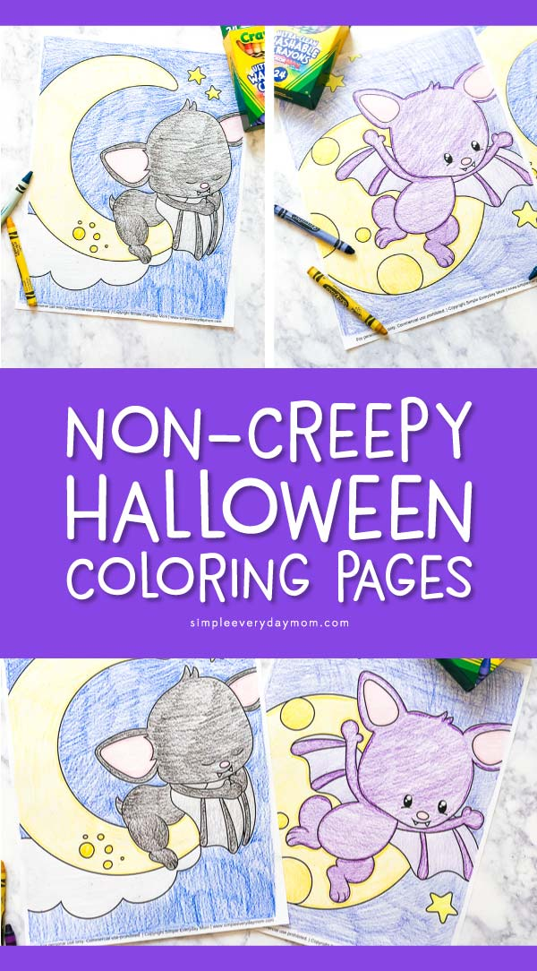 Cute Halloween Coloring Pages For Kids #halloween #kidsactivities #coloring #color #freeprintables