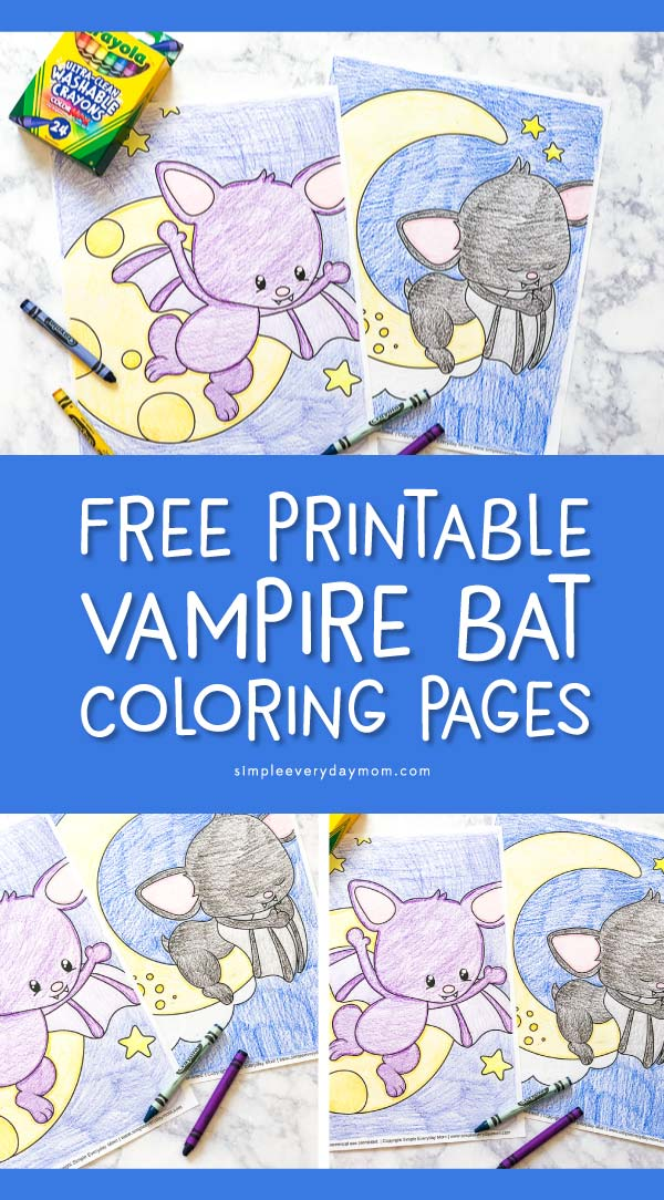 Halloween Coloring Pages For Kids   Download these free printable bat coloring pages that are cute and not creepy! They're perfect for toddlers and preschoolers too!  #halloween #halloweenart #craftsforkids #coloringpages #coloring #kidsactivities #ideasforkids #kidsandparenting #bats #freeprintables #toddler #preschool #kindergarten #earlychildhood #teacher