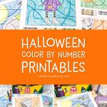 Halloween Color By Number Worksheets | These fun Halloween inspired hidden pictures are so much for for kindergarten, first grade and beyond. They're engaging and help kids with math concepts. This set features Frankenstein, a witch, a bat boy, pumpkins, a vampire and a gravestone. #kidsactivities #stem #mathactivities #kindergarten #firstgrade #secondgrade #earlychildhood #teaching #teacher #educationalactivitives