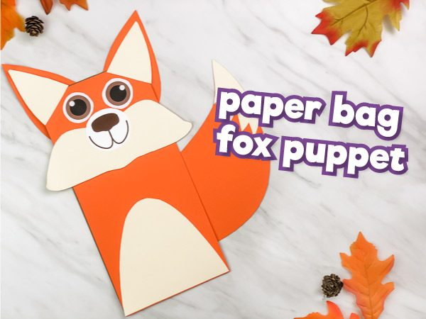 paper bag fox craft