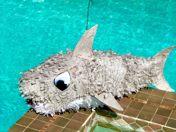 Shark Party Decorations: Shark Pinata