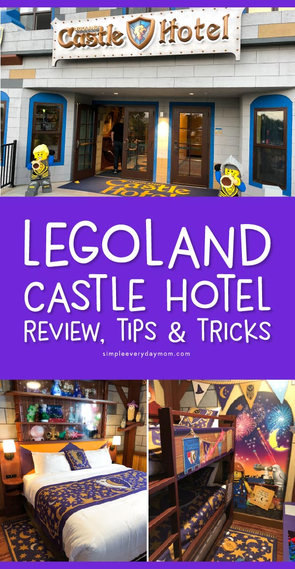Legoland California Castle Hotel | Find all the tips, tricks, and secrets that lurk around this awesome hotel with this comprehensive guide. #legoland #lego #familyvacations #vacationwithkids #kids #kidsandparenting