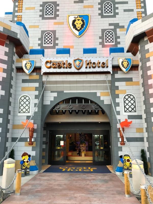 Legoland castle hotel exterior