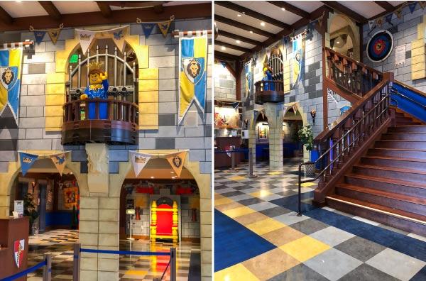 legoland castle hotel lobby