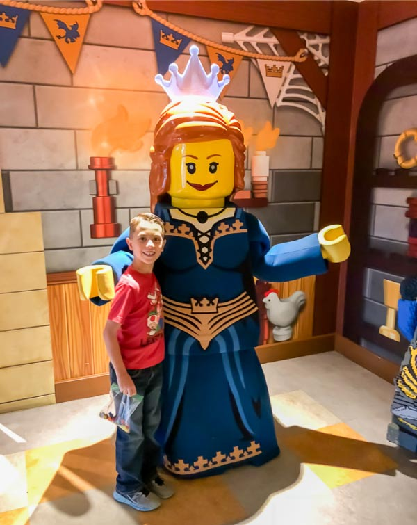 Legoland castle hotel meet and greets