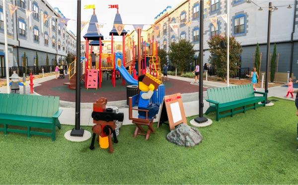 Legoland Castle Hotel Playground