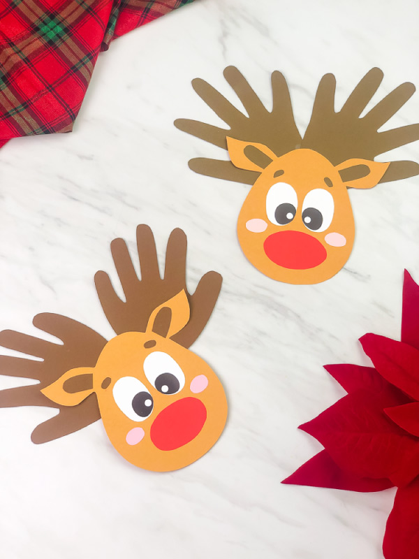 rudolph the red nosed reindeer craft