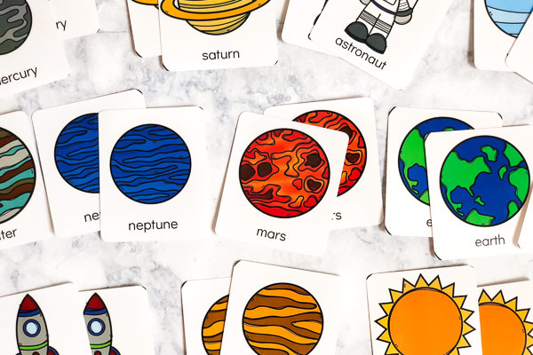 Solar System For Kids Flashcards #kids #kidsandparenting #homeschool #homeschooling #teacher