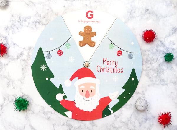 Free Printable Christmas Activities For Kids   Download this fun and educational Christmas spinner for kids. #kidsactivities #kids #christmascrafts