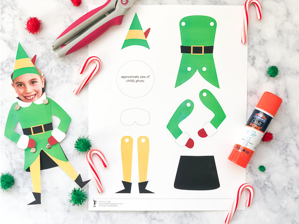 Elf Craft For Kids #kids #elf #kidsactivities #kidscrafts #craftsforkids #xmas