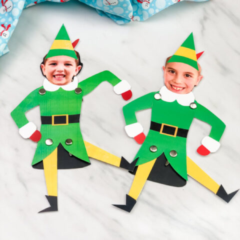 Elf Photo Craft For Kids